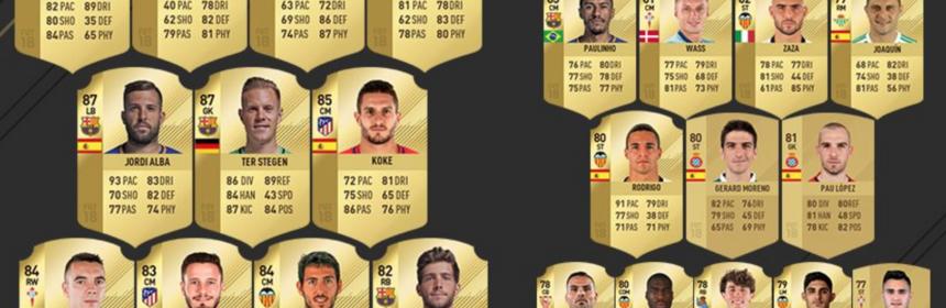 Ratings Refresh - La Liga