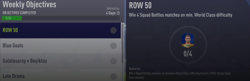 Lopez TOTS Weekly Objective